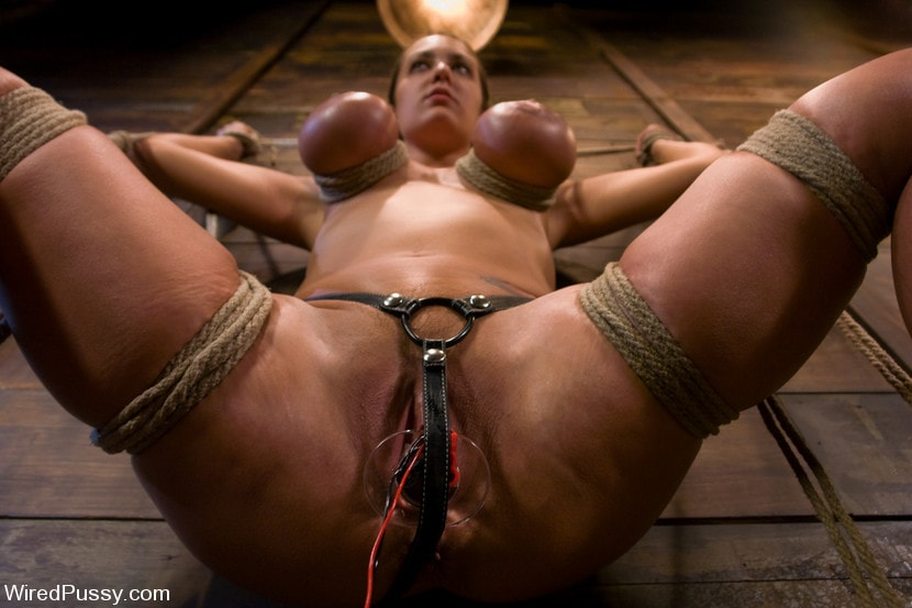 Kink 'gets her huge tits tied and wired!' starring Trina Michaels (Photo 6)