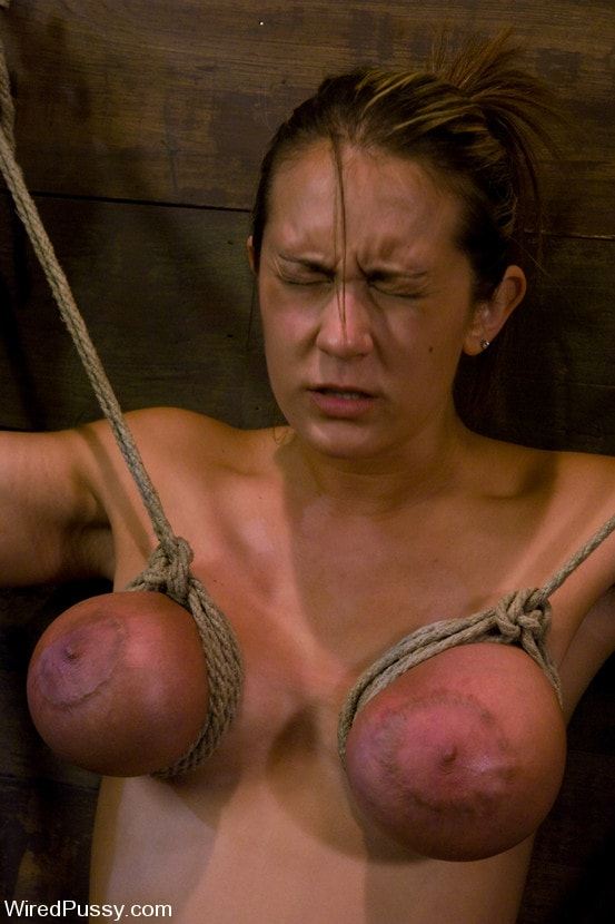 Kink 'gets her huge tits tied and wired!' starring Trina Michaels (Photo 7)