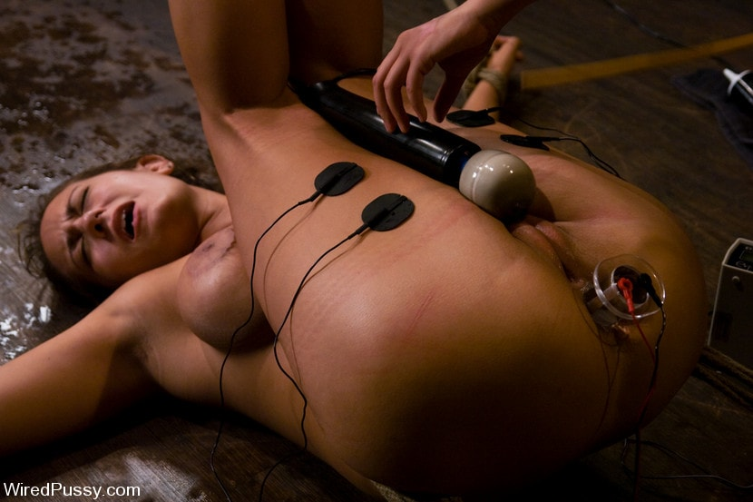 Kink 'gets her huge tits tied and wired!' starring Trina Michaels (Photo 14)
