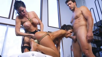 Veronica Avluv in 'The Nymphomaniac's Li'l Sister: Veronica Avluv Returns'