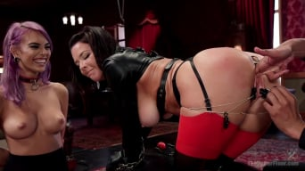 Veronica Avluv in 'The Nymphomaniac's Apprentice'