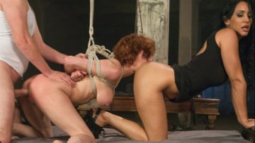 Veronica Avluv - Threesome BDSM Fuckfest