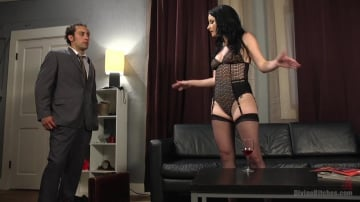 Veruca James - Sexy Wife Financially Dominates Her Rich Loser Husband
