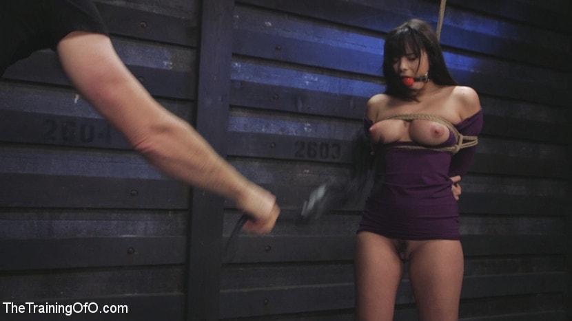 Kink 'Big Tits, Tight Dress, High Heels: New Slave Training Violet Starr' starring Violet Starr (Photo 3)