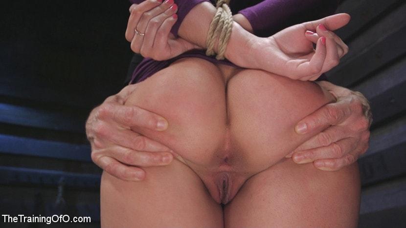 Kink 'Big Tits, Tight Dress, High Heels: New Slave Training Violet Starr' starring Violet Starr (Photo 4)
