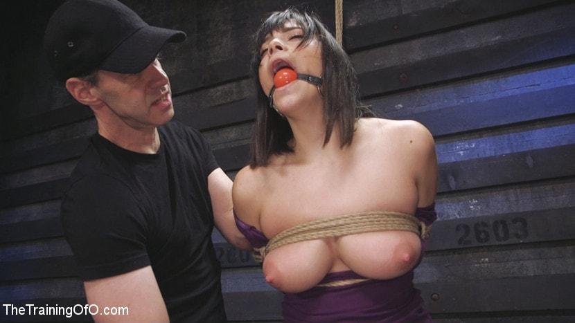 Kink 'Big Tits, Tight Dress, High Heels: New Slave Training Violet Starr' starring Violet Starr (Photo 5)