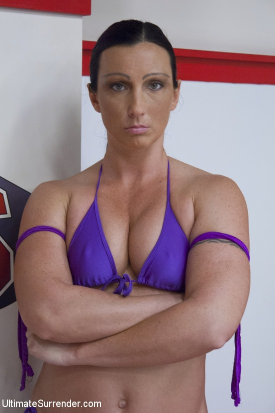 Kink 'Orgasm on the mat!!! flexible wrestler gets used and abused' starring Wenona (Photo 16)