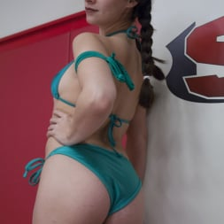 Wenona in 'Kink' Orgasm on the mat!!! flexible wrestler gets used and abused (Thumbnail 17)