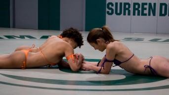 Yana Jordan in 'Amber Rogue Rayne (1-0) vs Yana The Wildcat Jordan (1-1)'