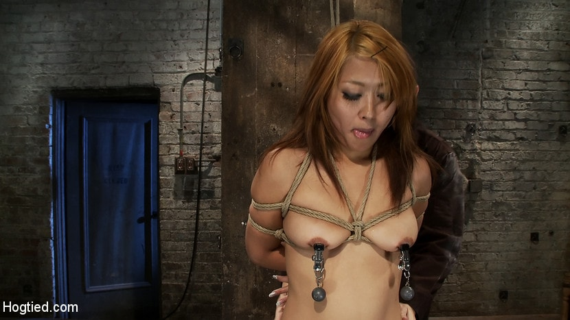 Kink 'Hot Japanese girl in traditional Japanese tie. Sounds just like Anime when she cums, true story.' starring Yuki Mori (Photo 11)