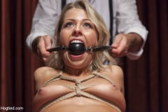 Zoey Monroe - Hot Blonde with Petite Pussy Bound and Banged in Pool Hall (Thumb 02)